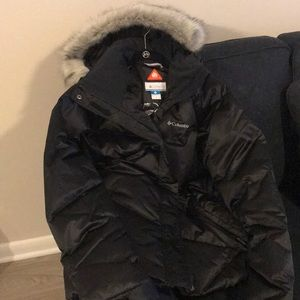 Columbia Fur Hood Jacket